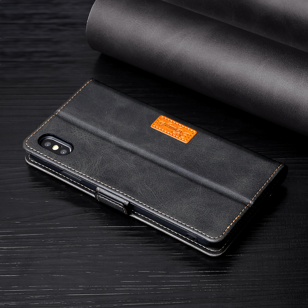 Luxury Leather Flip Wallet Magnetic Case For Google Phone