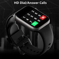Reloj inteligente resistente al agua para hombre y mujer, pulsera con llamadas, Control de música, para Iphone, Xiaomi, Huawei, IWO, regalo, 2021