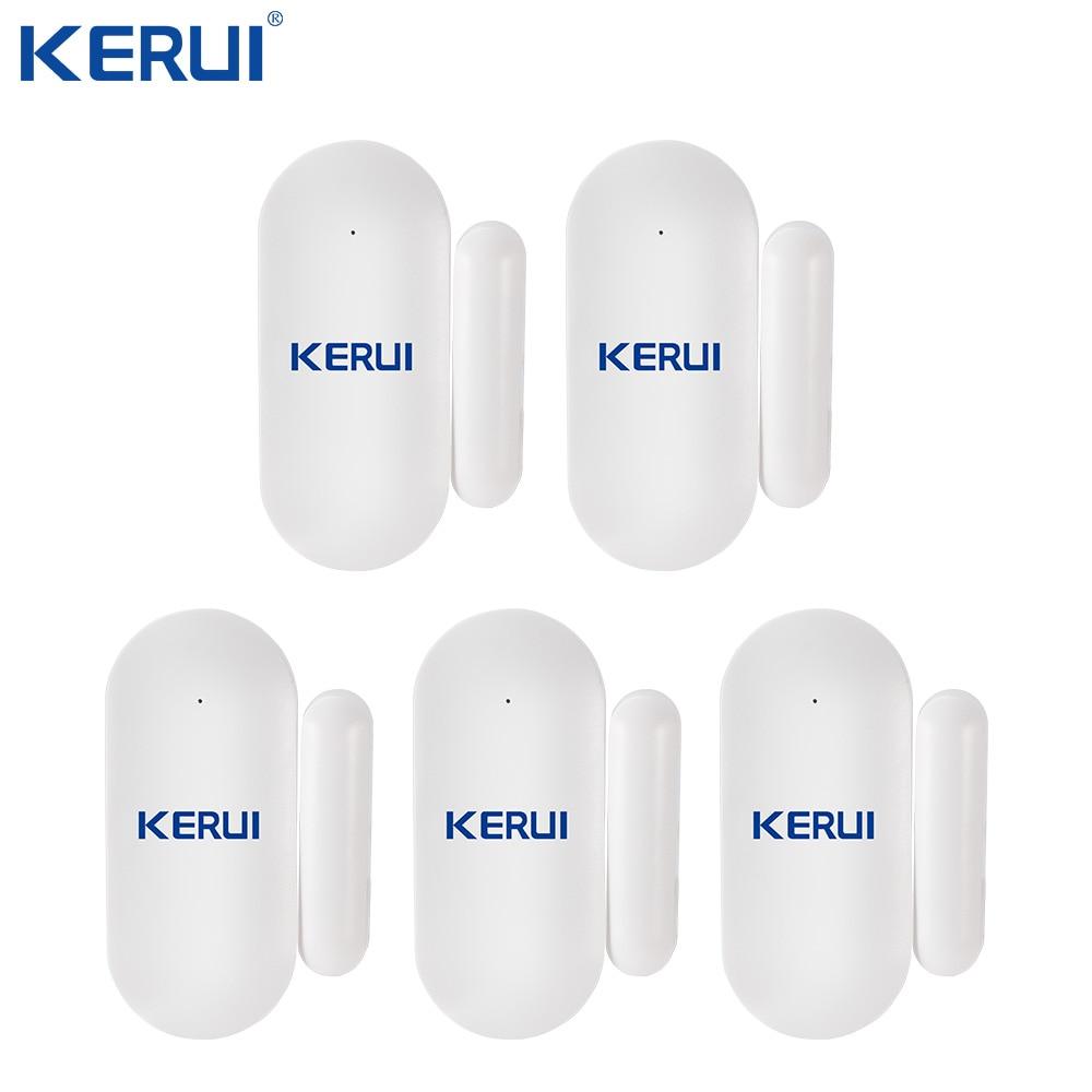 KERUI Wireless Mini Small Micro Door Sensor Home Security Door Window Sensor Detector Anti-Tamper For GSM WIFI Alarm System