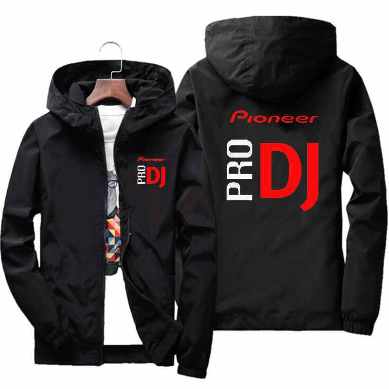 Neue frühjahr und sommer mode DJ Pioneer PRO bomber jacke männer straße windjacke hoodie zipper dünne mantel herren jacke 7XL
