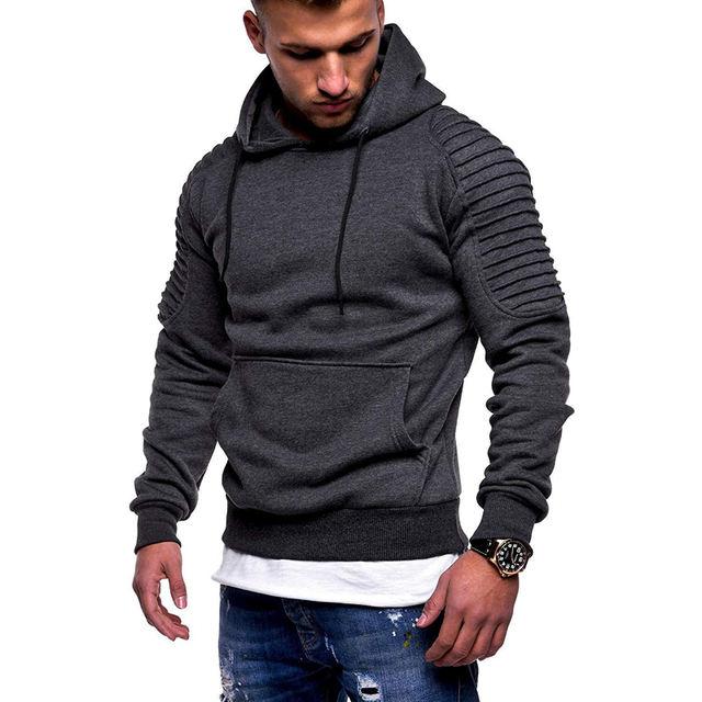 Men's Casual Slim Fit Camo Hoodies