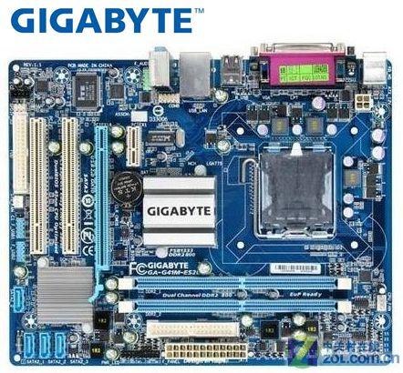 Gigabyte usado G41M-ES2L DDR2 GA-G41M-ES2L original mainboard LGA 775 placas VGA USB2.0 8G G41 Desktop motherboard