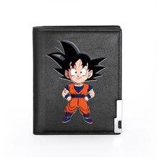 Porte-monnaie imprimé Goku pour hommes et femmes, porte-monnaie court Standard pour hommes et femmes, nouvelle mode