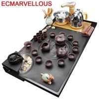 Chá da tarde do vintage decoração do quarto organizador ev dekorasyon aksesuarlar casa acessórios de decoração bule de chá chinês conjunto|Jogos de chá| |  -