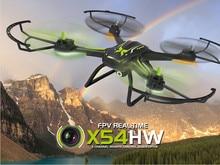 Syma X54HW FPV Antena 2.4G 4CH Real-tempo de Transmissão FPV Quadcopter Mini Drone com Câmera VS Syma X5HW X5SW Versão Atualizada