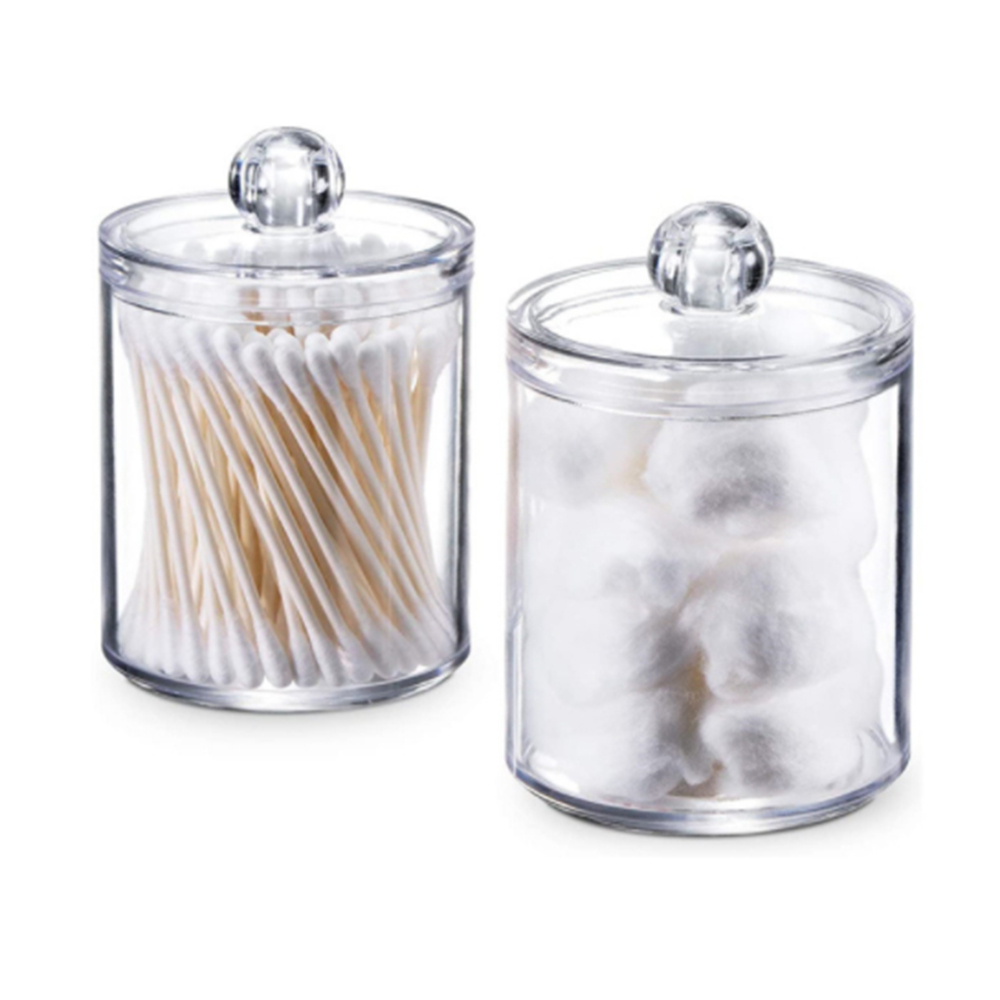 Прозрачный Органайзер хлопковый тампон коробка для хранения