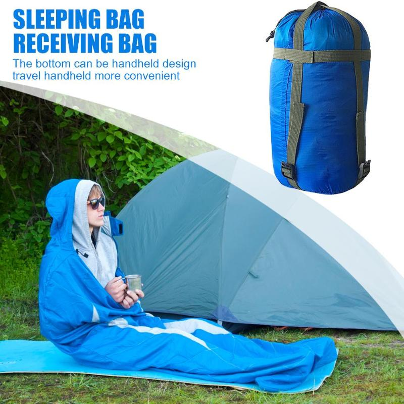 Outdoor Sleeping Bag Camping Sleeping Bag Delicate Texture Portable Travel Hammock Storage Bags Compression Packs