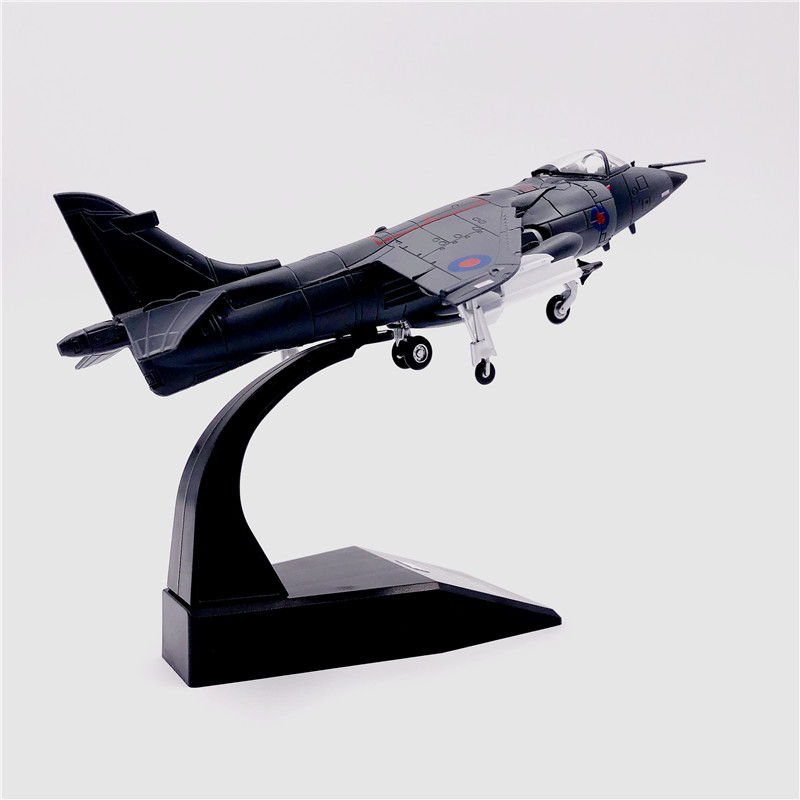 1 72 harrier jump fighter jet metal 02