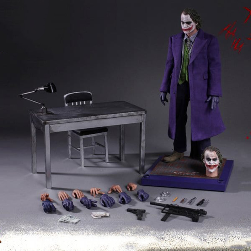 HC Hot Toys Movie DC Joker In Movie Batman Joints Moveable Action Figure PVC Collectible Model Toys