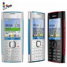 Nokia X2-00 celular bluetooth, fm, mp3 player, original, mp4, suporta teclado russo, desbloqueado, barato