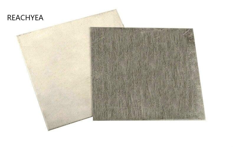 Лист из магниевого сплава AZ31B 2*100*100 мм, аноды гальванического покрытия, экспериментный анод, бесплатная доставка