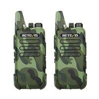 מכשיר הקשר 2pcs RETEVIS RT22 מקצועי Handy מכשיר הקשר מיני FRS VOX USB Charge UHF שני הדרך רדיו Comunicador משדר Woki טוקי (2)