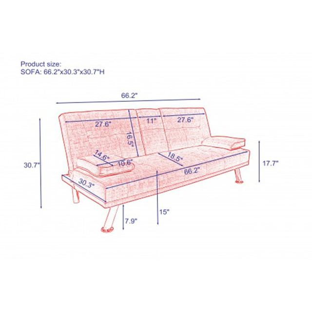 Modern Fabric Sofa  6