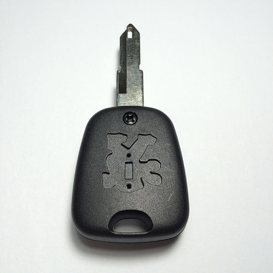Peugeot 206 Avtomobil açarı qabıqlı Top A + Loqotipli - Avtomobil ehtiyat hissələri - Fotoqrafiya 4