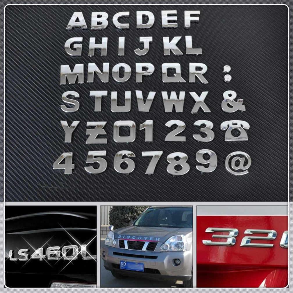 자동차 diy 편지 알파벳 번호 스티커 로고 메르세데스 벤츠 세대 gle63 gle450 c450 c350 a45 cla cla45 c350e a