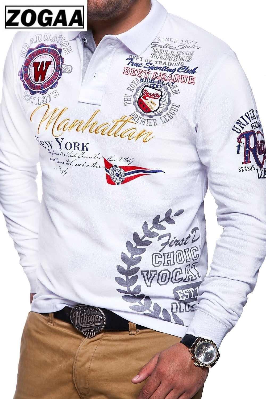 Camisetas de manga larga de algodón de talla grande para hombre, camisetas de moda para hombres, ropa de hombre para cultivar personalidad, nuevas camisetas casuales para 2018, S-3XL