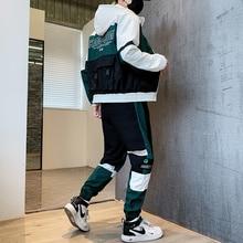 2020 Hoodies Mens Ropa Deportiva Hombre Moda Jogginganzug Herren Fashion Jacket+Pants 2 Piece Set Spring Tracksuit For Men