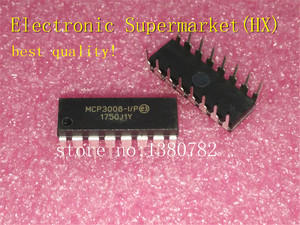 Image 1 - Free Shipping 50pcs/lots MCP3008 I/P MCP3008 DIP16 IC In stock!