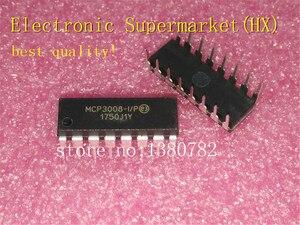 Image 1 - Frete Grátis 50 unidades/lotes MCP3008 I/P MCP3008 DIP16 IC Em estoque!