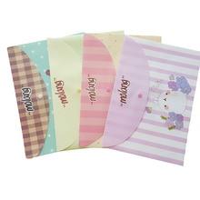 File-Bag Stationery Filing-Production PVC 12pcs/Lot Potato Rabbit-Series Lovely