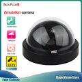 Домашняя купольная камера безопасности SecuPlug, беспроводная инфракрасная камера видеонаблюдения, муляж наружной имитации