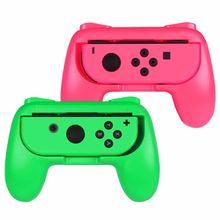 Grip para Nintendo Switch Joy-Con, [diseño ergonómico] Kit de mango de controlador de juego Comfort resistente al desgaste para Nintendo Switch Joy C