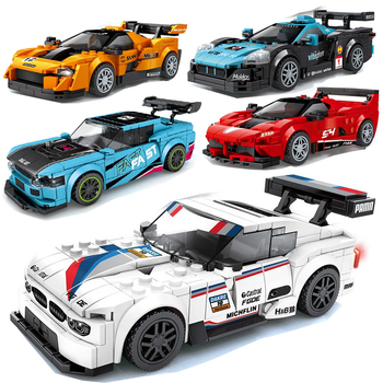 Racing Car City Speed Champions Sports Model  1