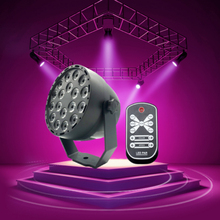 18 LEDs Ultraviolet UV LED Par DMX Stage Lighting Effect DJ Disco Party Holiday Bar Christmas Wedding Club Black Lights