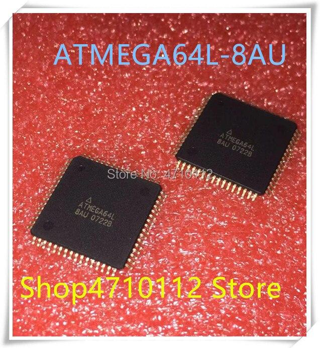 NEW 10PCS/LOT ATMEGA64L-8AU ATMEGA64L 8AU TQFP-64 IC
