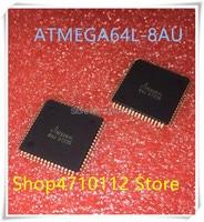 NOVA 10 pçs/lote ATMEGA64L 8AU ATMEGA64L 8AU TQFP 64 IC|null|Eletrônicos -