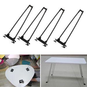 """Image 5 - 4 szt. 14 """"Heavy Duty szpilka biurko na laptopa składane nogi składane nogi do stolika na kawę"""