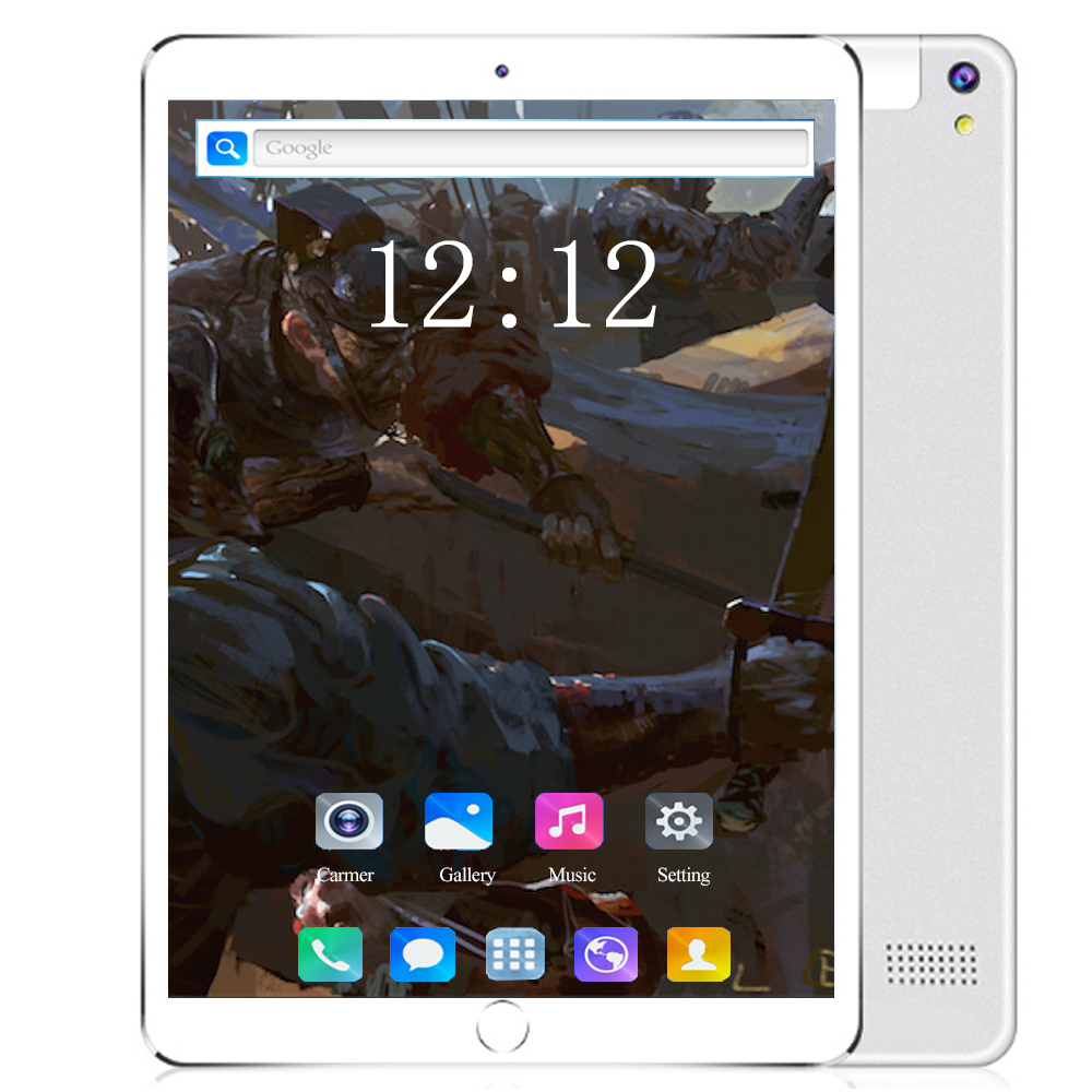 6+128GB 10 Inch 4G Tablet PC Android 8.0 Octa Core Super Tablets Ram 6GB Rom 128GB WiFi GPS 10.1 Phone Tablet IPS Dual SIM GPS