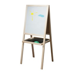 Easel board magnetic marker PYTHAGORAS, 46*54 cm, double-sided