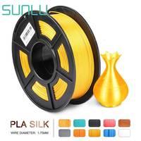 Silk PLA 1.75 3D Filament Silk Texture Plastic PLA 3D Printing Filament Gold Color 1kg With Spool For 3D Printer And Pen
