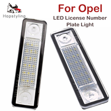 LED Number License Plate Light For Opel For Corsa B Astra F G Omega A B Vectra B Zafira A Signum Speedster Tigra A Buick Excelle стоимость