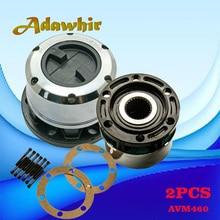 Free-Wheel-Locking-Hub Sportage for Kia 4WD 1995-2002 Avm460/26-Splines 2pcs Besta 95-02