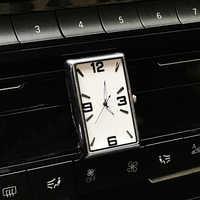 Auto Klok Automobiles Quartz Horloge Auto-interieur Decoratie Stick-On Digitale Klok Tijdweergave Auto-Styling Accessoires