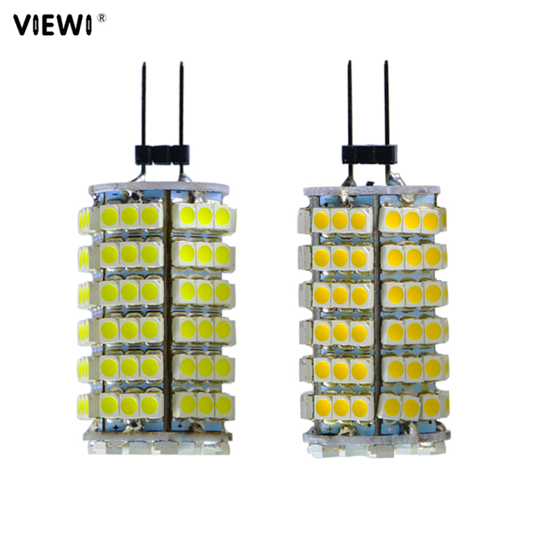 4pcs bombilla <font><b>G4</b></font> <font><b>led</b></font> corn bulb <font><b>12</b></font> <font><b>V</b></font> volt lights super 5W 3528 120 <font><b>leds</b></font> 12v energy saving lamp Spot candle Chandeliers lighting image