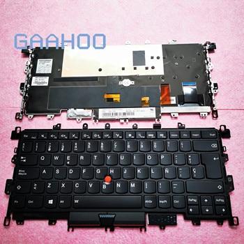 SP Spain Brand new original Keyboard for LENOVO THINKPAD X1 YOGA 1ST gen 2IN1 LAPTOP Keyboard  Backlit 00JT871