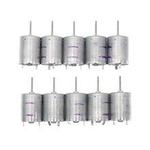 5/10 Uds RF 370CB 11670 DC 12V 24V 6250 Micro Motor RPM de baja velocidad actual de bajo ruido eléctrico de Metal precioso cepillo mudo Motor