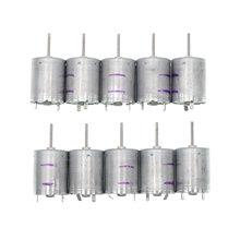 5/10Pcs RF 370CB 11670 Dc 12V 24V 6250Rpm Micro Motor Lage Snelheid Huidige Lage Noise elektrische Edele Metalen Borstel Mute Motor