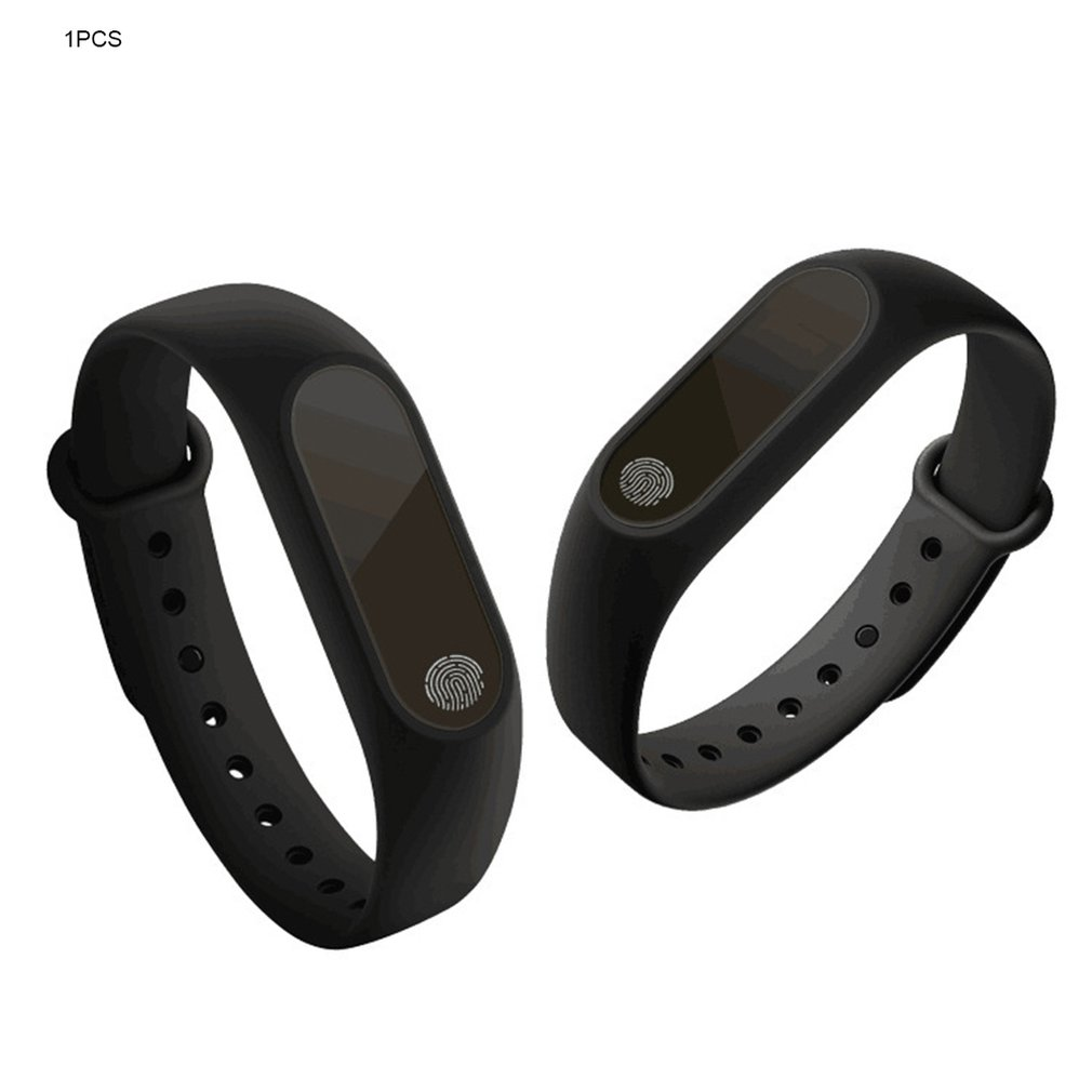 M2 Smart Bracelet Synchronous Motion Meter Step Sleep Monitoring Call Reminder Touch & Button Type Wrist Strap Bracelet Hot