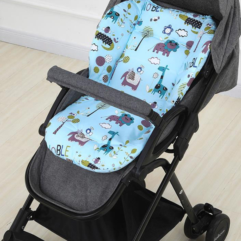 Baby Stroller Seat Cushion Child Pushchair Pad Infant Car Seat Mat Dining Chair