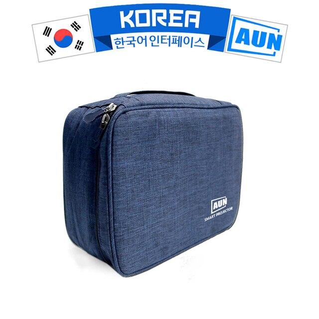 Original AUN Fashion Storage Bag For C80, For VIP Customer, 24.5*18*10 cm,Waterproof,  Mini Brand Projector Bag Sn02