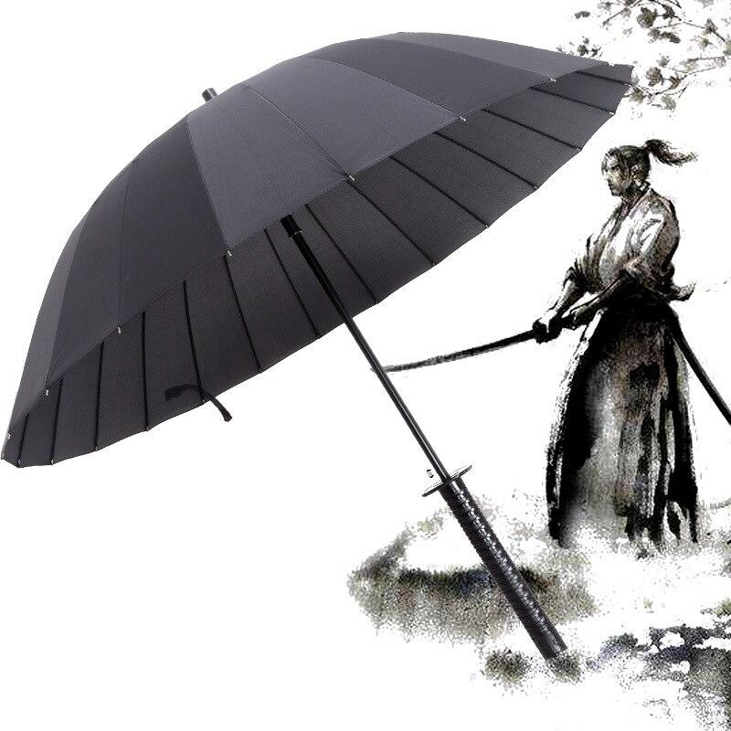 Japanese Pattern Textile Bamboo Umbrella 16 chief umbrella universe