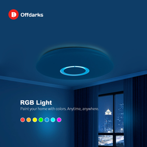 Image 3 - Modern LED Ceiling Light RGB Dimmable 25W 36W APP Remote Control Bluetooth Music Light Foyer Bedroom Smart Ceiling Light