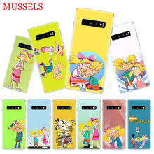hey arnold fondos Cover Phone Case for Samsung Galaxy S10 Plus S10E Lite A20 A50 A70 A30 A10 A20E M20 M10 A80 A40