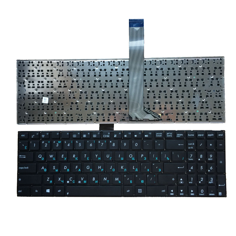 NEW Russian FOR ASUS K56 K56C K56CB K56CM K56CA V550C V550CA V550CB V550CM U58C U58CA U58CB U58CM RU Laptop Keyboard Black|Replacement Keyboards| |  - title=