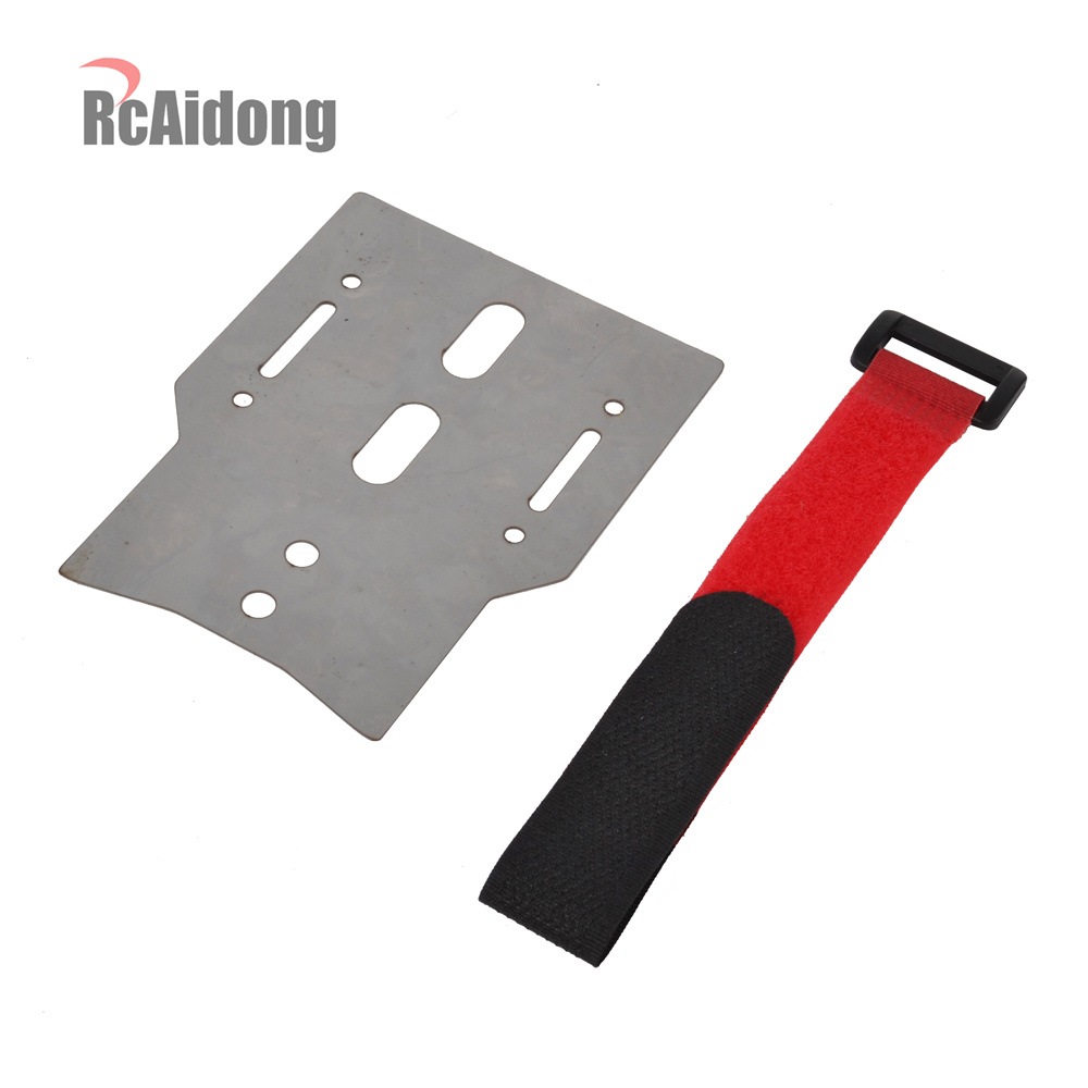 RC Metal Battery Holder Expansion Plate for Traxxas trx4 1 10 RC Crawler Car in Parts Accessories from Toys Hobbies