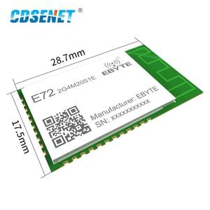 Image 2 - CC2652P ZigBee Bluetooth Multi protocol 2.4GHz SMD Wireless SoC Module 20dBm Transceiver Receiver PCB Antenna E72 2G4M20S1E